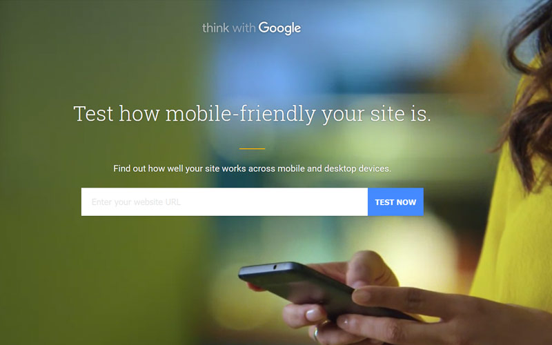 Mobile-friendly test tool by Google