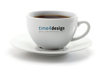 Have a cuppa, time4design has you covered