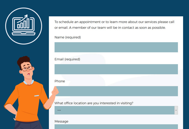 Lead generation contact forms