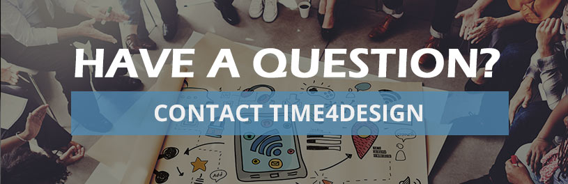 Contact time4design to improve your customer  website return rates
