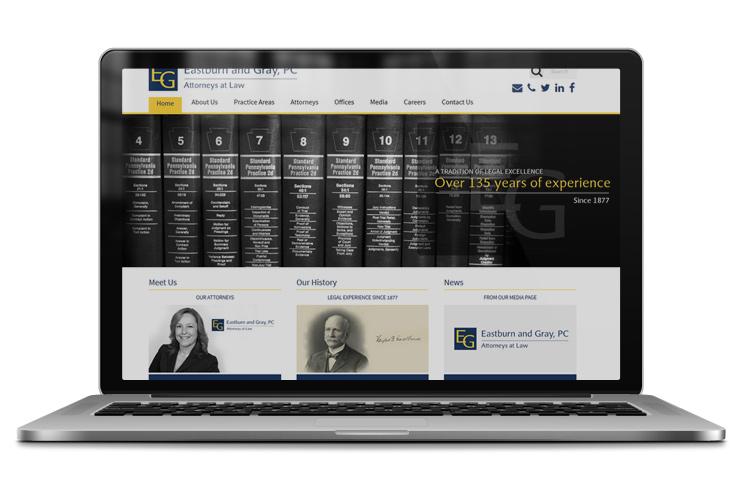Modern law firm web design