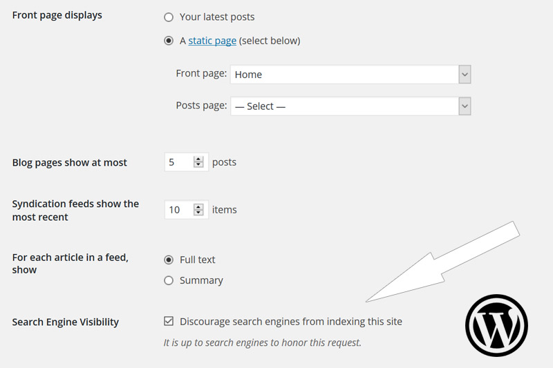 WordPress SEO Setting