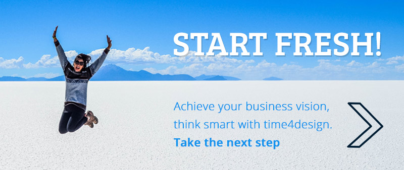 Start fresh with time4design