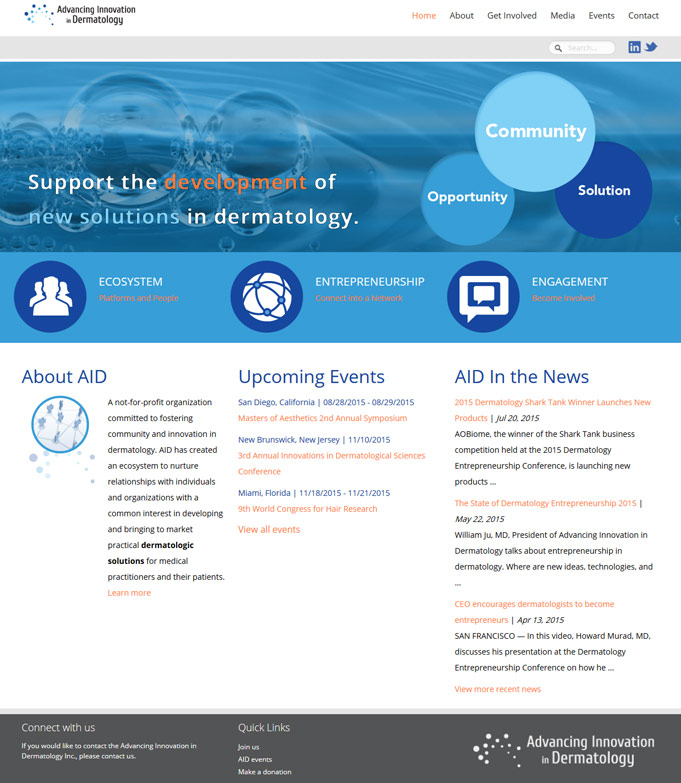 AID Website Design and Development