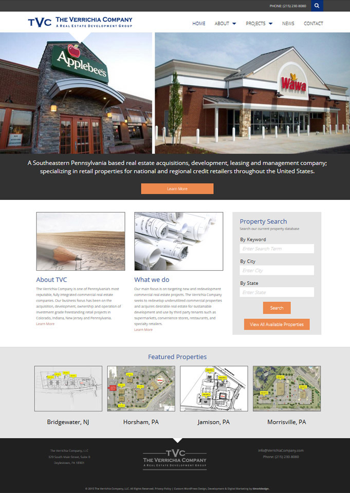 Website Design The Verrichia Company