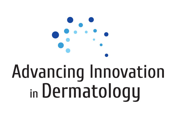Advancing Innovation in Dermatology Logo Design