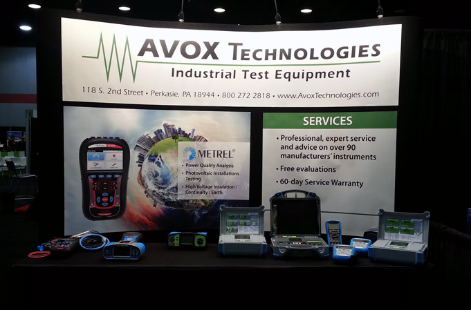 AVOX Technologies Tradeshow Exhibit Design
