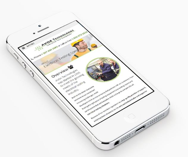 AVOX Technologies - Responsive Website Design