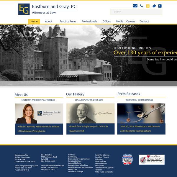 Single attorney websites