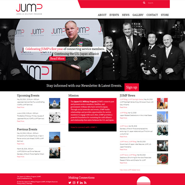 JUMP - Nonprofit Branding and Web Design